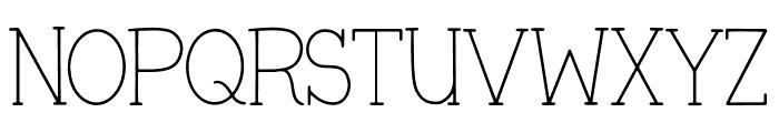 Veronica + Harold Font Regular Font UPPERCASE