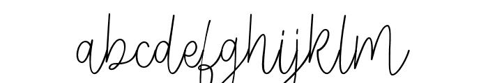 Veronica-Regular Font LOWERCASE