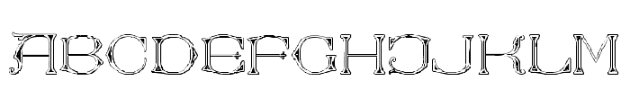 Victorian Alphabets Two Regular Font LOWERCASE