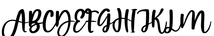 Victory House Font UPPERCASE