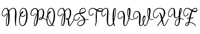 Victory Font UPPERCASE