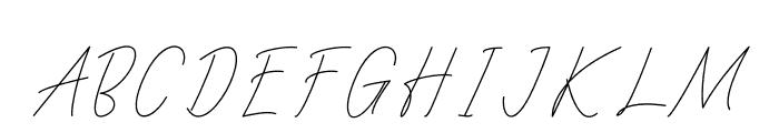 Villager Font UPPERCASE