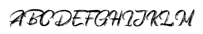 Vinegart Font UPPERCASE