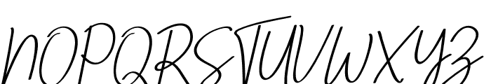 Ving Smith Font UPPERCASE