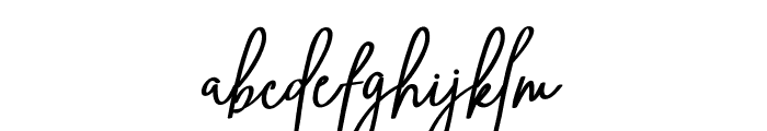 Ving Smith Font LOWERCASE
