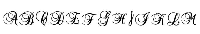 Vintage Delights Regular Font UPPERCASE