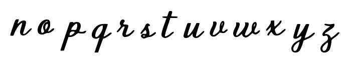 Vintage Delights Regular Font LOWERCASE