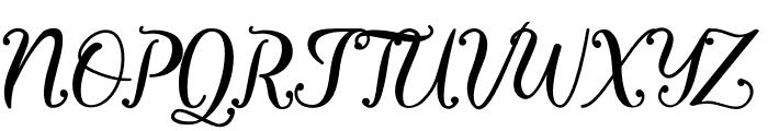 Virgiluna Font UPPERCASE