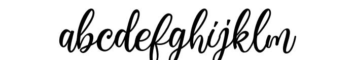 Virgiluna Font LOWERCASE