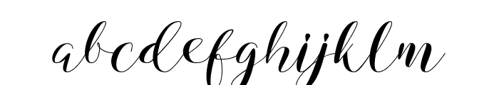 Virgina Font LOWERCASE