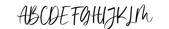 Vivy Aquilla Font UPPERCASE
