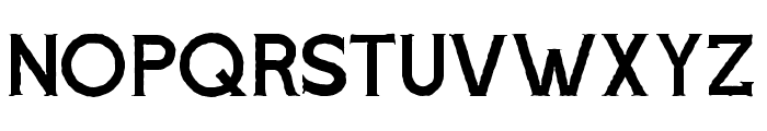 Voltury-Serif Rough Font UPPERCASE