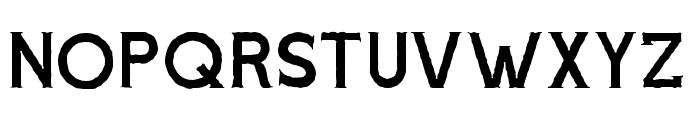 Voltury-Serif Rough Font LOWERCASE