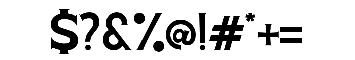 Voltury-Serif Font OTHER CHARS
