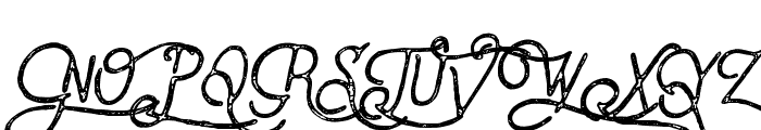 VulturemotorVintage-Italic Font UPPERCASE