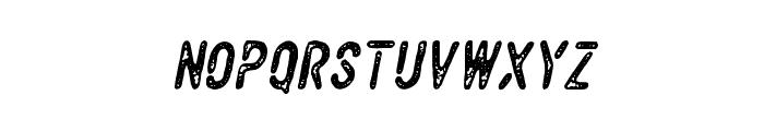 VulturemotorVintage-Italic Font LOWERCASE