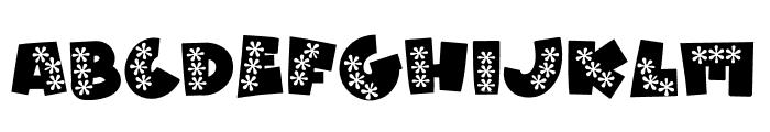 WL Aloha Font UPPERCASE