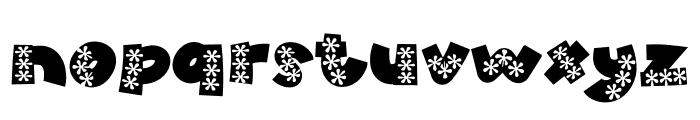 WL Aloha Font LOWERCASE