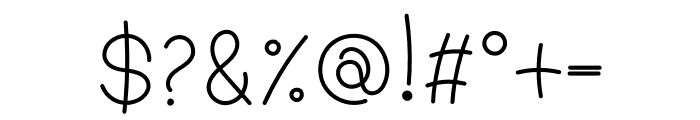 WL Platina Font OTHER CHARS