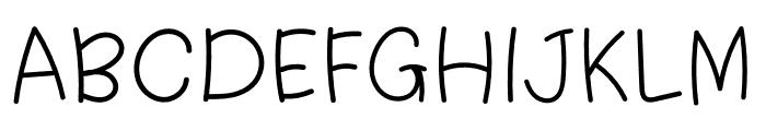 WL Platina Font UPPERCASE