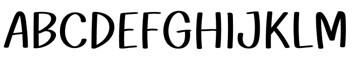 WL Quanta Font UPPERCASE