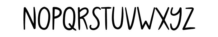 WLSubmarineSandwich Font UPPERCASE