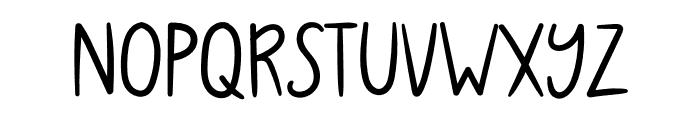 WLSubmarineSandwich Font LOWERCASE