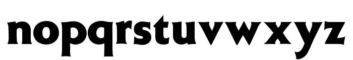W.ModernGothic-Display Font LOWERCASE