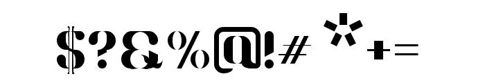Wackathetica-Extrabold Font OTHER CHARS