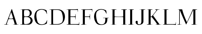 Walina Regular Font UPPERCASE