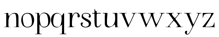 Walina Regular Font LOWERCASE