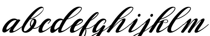 Waterbug Font LOWERCASE