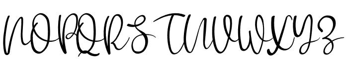 Watermellon Font UPPERCASE