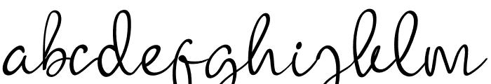 Watermellon Font LOWERCASE