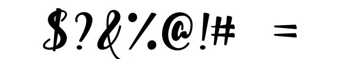 Watermelon Script Font OTHER CHARS