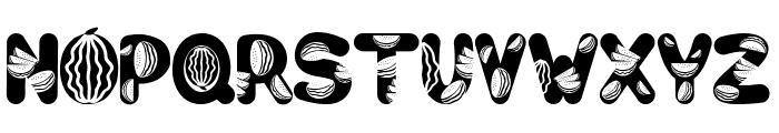 Watermelon Font UPPERCASE