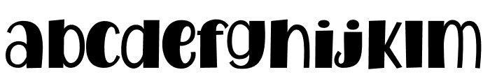 WatermelonFamily-Fat Font LOWERCASE