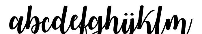 WatermelonScript Font LOWERCASE