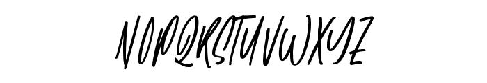 Wattermellon Font UPPERCASE