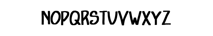 We The Champion Font UPPERCASE