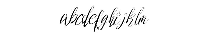 Wedding Joy Font LOWERCASE