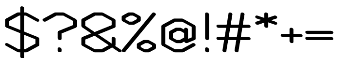 Weight regular Font OTHER CHARS