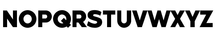Weisshorn Font UPPERCASE