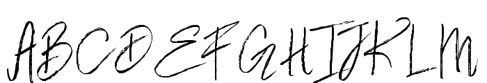 WeisshornBrush Font UPPERCASE