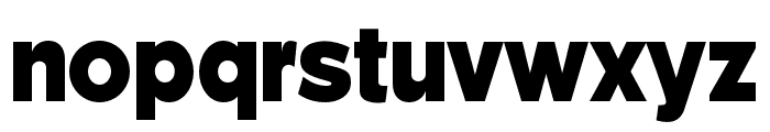 Weisshorn Font LOWERCASE