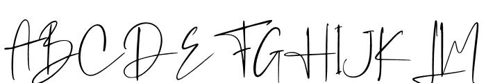 Westony Font UPPERCASE