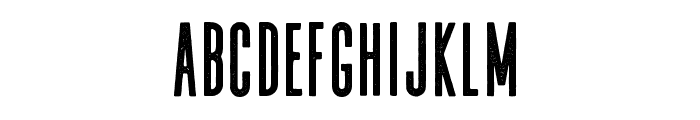 WheatAged-Regular Font LOWERCASE