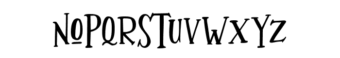 Whimsy Font LOWERCASE