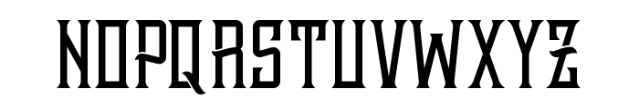 Whiskey Font One Font UPPERCASE