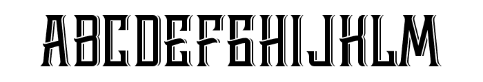 Whiskey Font Two Font LOWERCASE